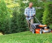 Lawnmowers and garden power tools