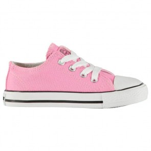 SoulCal Low Infants Canvas Shoes Pink