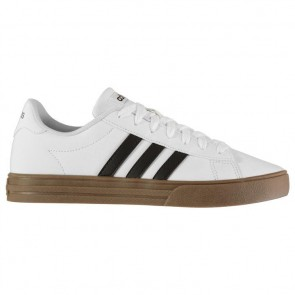 Adidas Daily 2.0 Trainers Mens White/Black/Gum