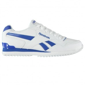 Reebok Royal Glide Ripple Clip Mens Trainers White/Blue