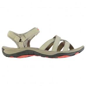 Karrimor Salina Leather Ladies Walking Sandals Beige