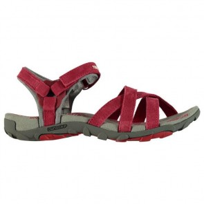 Karrimor Salina Leather Ladies Walking Sandals Raspberry