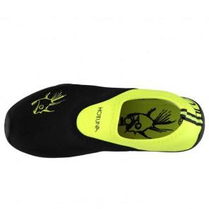 Hot Tuna Mens Aqua Water Shoes Black/Lime