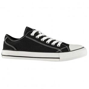 SoulCal Canvas Low Ladies Canvas Shoes Black