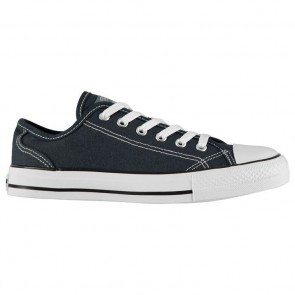SoulCal Canvas Low Ladies Canvas Shoes Navy