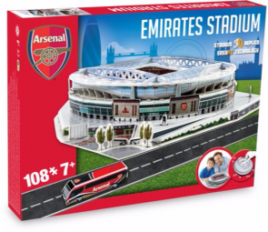 3D Stadium Puzzle Arsenal