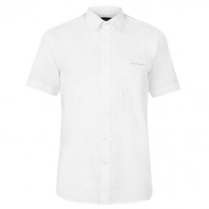 Short Sleeve Shirt Mens - Wht