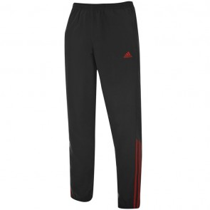 Adidas Samson 2 Tracksuit Bottoms Men - Grey/Red.