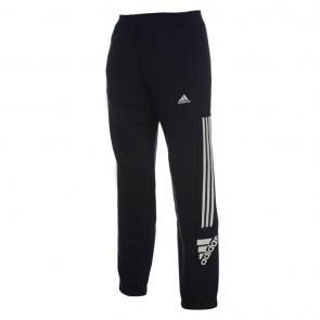 Adidas 3 Stripe Logo Fleece Pants Mens - Navy/White.