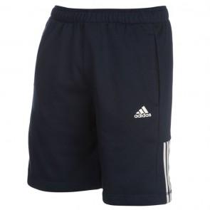 Adidas 3Stripe Shorts Mens - Navy/White.
