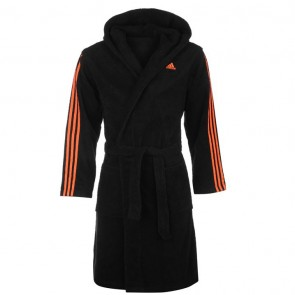 Adidas Bathrobe Mens - Black.