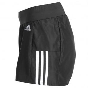 Adidas Quest Ladies Running Shorts -  Black/White.