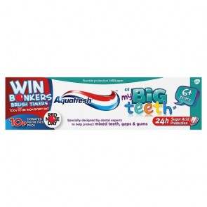 Aquafresh Big Teeth Toothpaste 75Ml.
