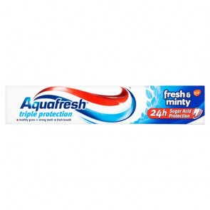Aquafresh Fresh And Minty Toothpaste 75Ml.