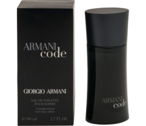 Armani Code for Men - 50ml Eau de Toilette.