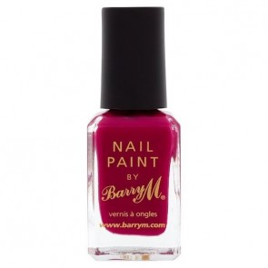 Barry M Nail Paint Raspberry.
