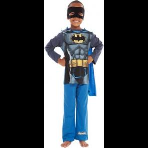 Batman Boys' Blue Novelty Pyjamas.