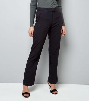 Bootcut Trousers - Black.