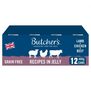 Butchers Original Recipes Loaf In Jelly 12X400g.