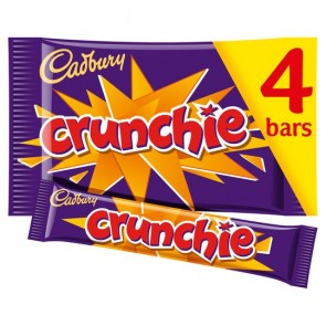 Cadbury Crunchie Bars 4 Pack 128G