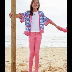 Cherokee Girls Skinny Jeans - Pink.