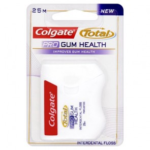 Colgate Total Pro Gum Health Floss 25M.