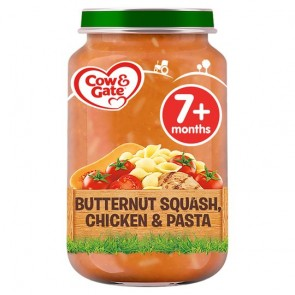 Cow & Gate Butternut Squash Chicken & Pasta 7Mth+ 200G
