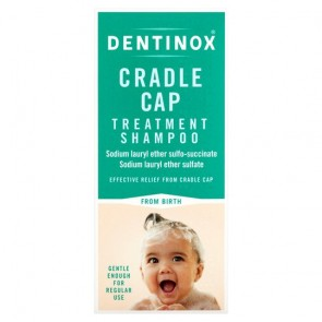 DeDentinox Cradle Cap Treatment Shampoo 125Ml