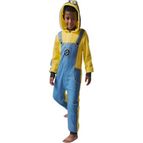 Despicable Me Minions Boys' Yellow Fleece Onesie.