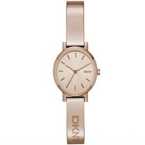 DKNY Ladies' Soho NY2308 Rose Gold Plated Bangle Watch