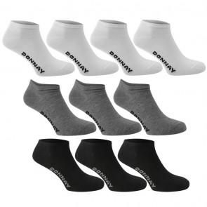 Donnay 10 Pack Trainer Socks - Multi Asst.