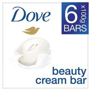 Dove Original Bar Soap 6X100g.