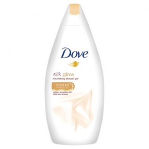 Dove Silk Glow Body Wash 500Ml.