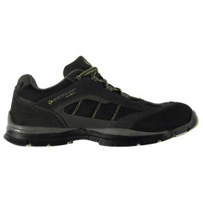 Dunlop Safety Iowa Mens Safety Shoes - Charcoal/Yellow.