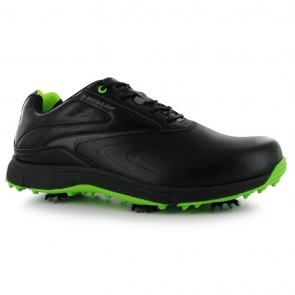 Dunlop Waterproof Leather Biomimetic 300 Men Golf Shoes - Black.