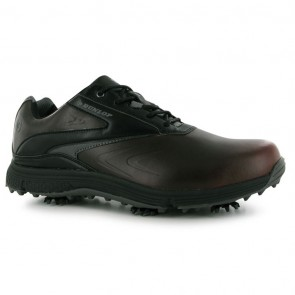Dunlop Waterproof Leather Biomimetic 300 Men Golf Shoes - Brown.