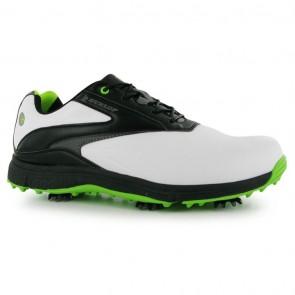 Dunlop Waterproof Leather Biomimetic 300 Men Golf Shoes - White