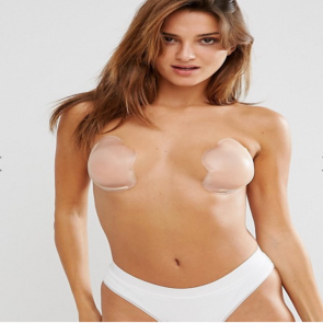 Fashion Forms Silicone Skin Cleavage Enhancement Bra - Nude.