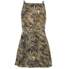 Firetrap Blackseal Feather Print Dress - Multi.