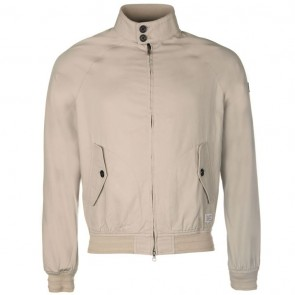 Firetrap Blackseal Harrington Jacket - Stone.
