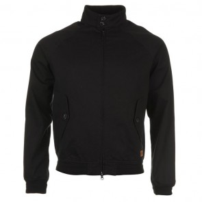 Firetrap Blackseal Harrington Jacket - Washed Black.
