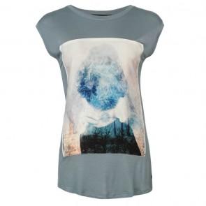 Firetrap Graphic TShirt Ladies -Blue - Candace.