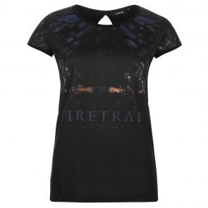 Firetrap Graphic TShirt Ladies - Phantom Dakota.