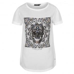 Firetrap Graphic TShirt Ladies - White Leanna.
