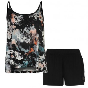 Firetrap Pyjama Set Ladies - Floral Shorts.