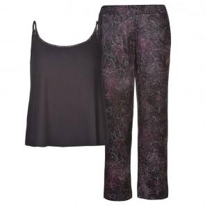 Firetrap Pyjama Set Ladies - Purple Mix.