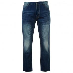 Firetrap Rom Mens Jeans - Reg Mid Wash.