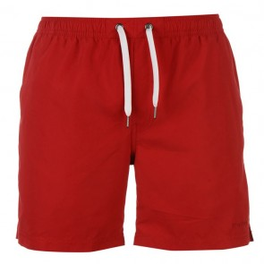Firetrap Swim Shorts Mens - Red.