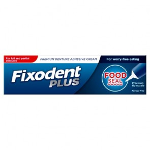 Fixodent Adhesive Cream Food Seal 40G.