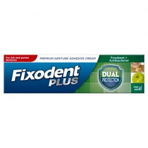 Fixodent Adhesive Cream Protection 40G.